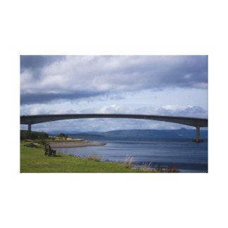 """Bridge Over Calm Waters"" Canvas Prints"