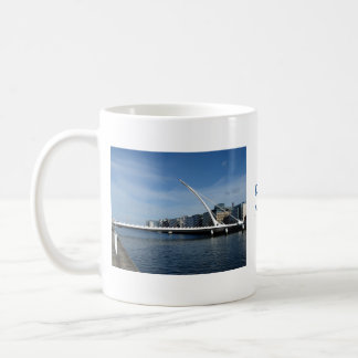 Bridge Over Dublin Ireland River Cup Basic White Mug