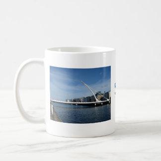 Bridge Over Dublin Ireland River Cup Basic White Mug