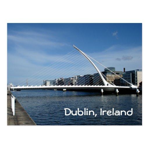 Bridge Over Dublin River Postcards
