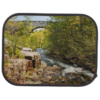 Bridge Over River Car Mat