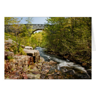 Bridge Over River Card