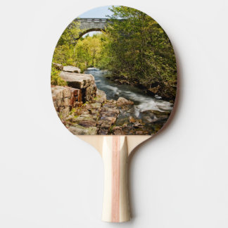 Bridge Over River Ping Pong Paddle