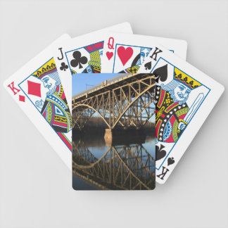 Bridge Over Schuylkill River Bicycle Playing Cards