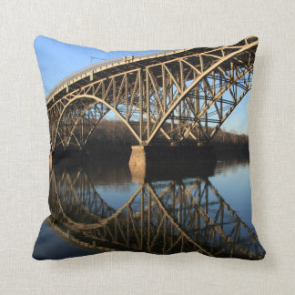 Bridge Over Schuylkill River Cushion