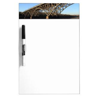 Bridge Over Schuylkill River Dry Erase Board