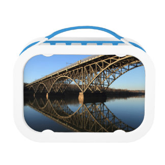 Bridge Over Schuylkill River Lunch Box