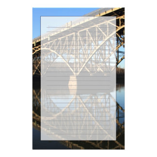 Bridge Over Schuylkill River Stationery