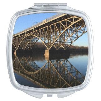 Bridge Over Schuylkill River Travel Mirrors