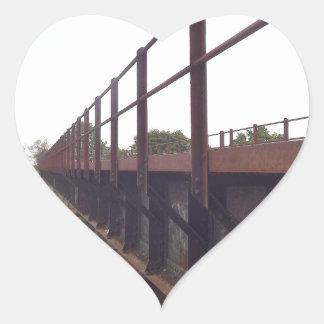 Bridge over stickers