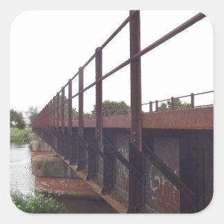 Bridge over sticker