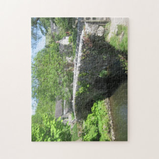 Bridge Over Stream (Derbyshire) Jigsaw Puzzle