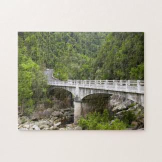 Bridge Over Stream, Tsitsikamma National Park Jigsaw Puzzle