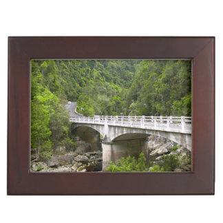 Bridge Over Stream, Tsitsikamma National Park Keepsake Box