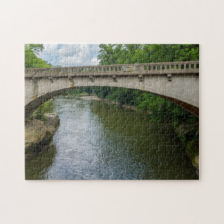 Bridge Over Sugar Creek Jigsaw Puzzle