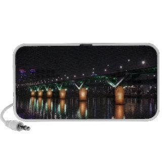 Bridge over the Han River at Night Mp3 Speakers