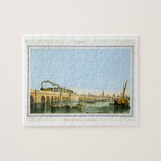 Bridge over the Lagoon, from 'Views of Principal m Jigsaw Puzzle