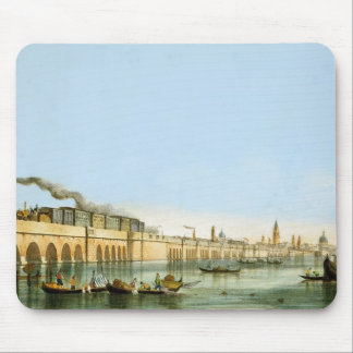 Bridge over the Lagoon, from 'Views of Principal m Mouse Pad