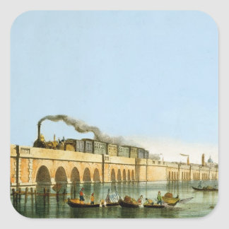 Bridge over the Lagoon, from 'Views of Principal m Square Stickers