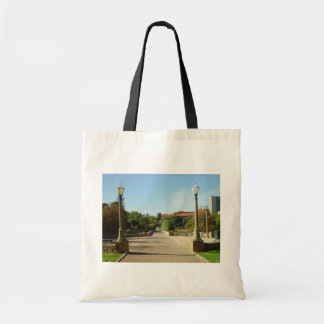 Bridge Over The Torrens To University At Adelaide Budget Tote Bag