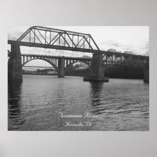 Bridge Over TN River Poster