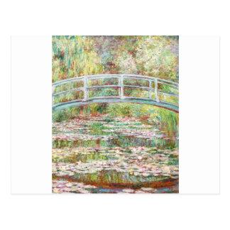Bridge Over Water Lilies Pond - Claude Monet Postcard