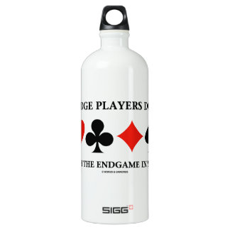 Bridge Players Do It With The Endgame In Mind SIGG Traveller 1.0L Water Bottle