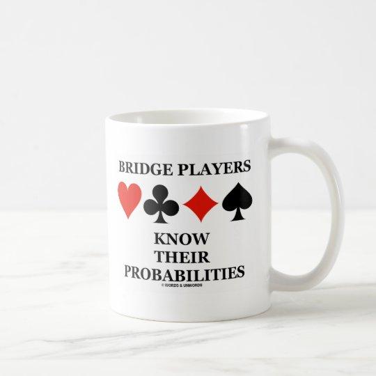 Bridge Players Know Their Probabilities Coffee Mug
