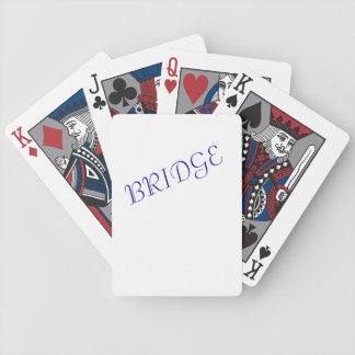 """Bridge"" playing cards"