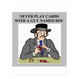 bridge poker cards player game design postcard