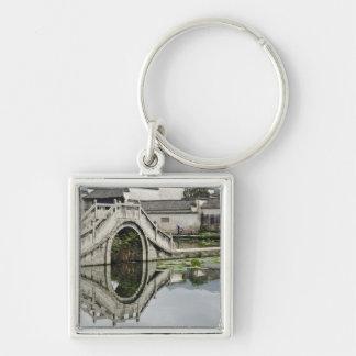 Bridge reflection, Hong Cun Village, Yi Key Ring
