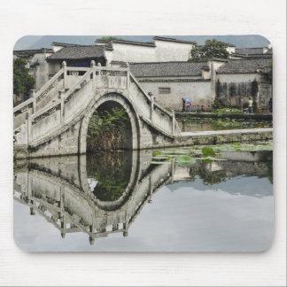 Bridge reflection, Hong Cun Village, Yi Mouse Mat