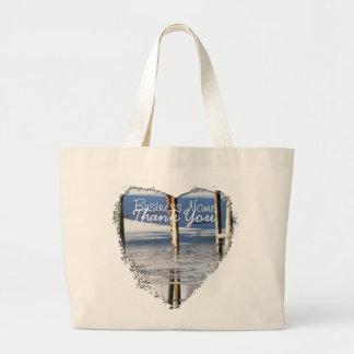 Bridge Reflection; Promotional Jumbo Tote Bag