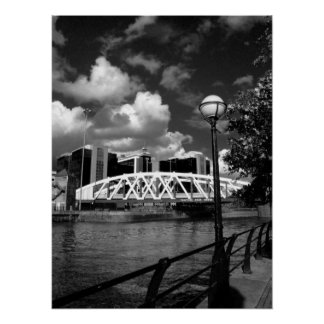 Bridge - Salford Quays Poster