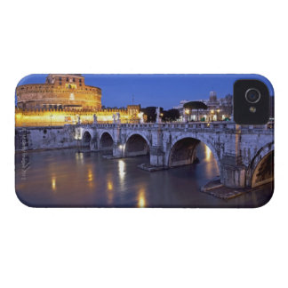Bridge Sant Angelo and Castel Sant Angelo at iPhone 4 Case