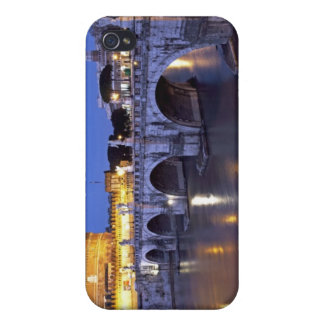 Bridge Sant Angelo and Castel Sant Angelo at iPhone 4 Covers