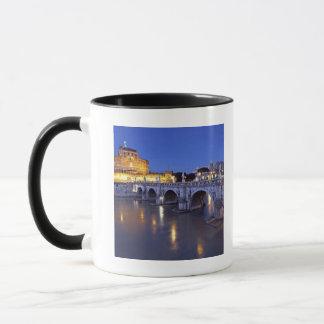 Bridge Sant Angelo and Castel Sant Angelo at Mug