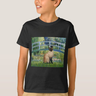 Bridge - Seal Point Siamese cat T-Shirt