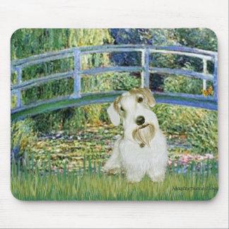 Bridge - Sealyham Terrier (L) Mouse Pad