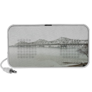 Bridge spanning the Ohio River Laptop Speakers