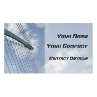 Bridge Spine and Cables Construction Business Card