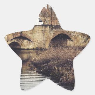 bridge star sticker