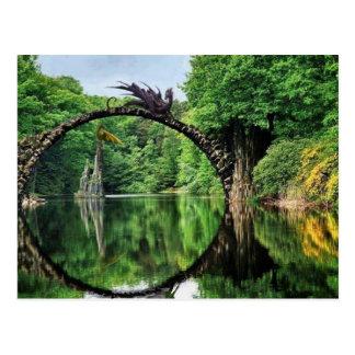 Bridge Stone Dragon II Postcard