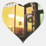 Bridge Street Café – Magic in the Night Heart Stickers