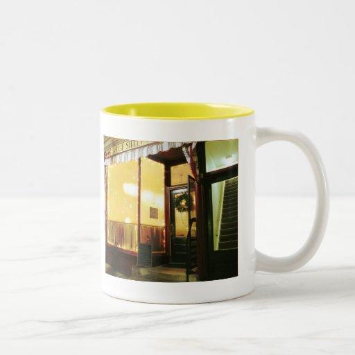 Bridge Street Café – Magic in the Night Two-Tone Mug