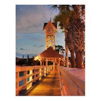 Bridge Street Clock Tower Postcard