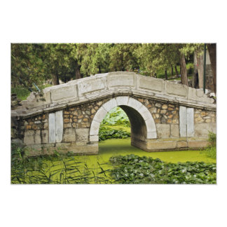 Bridge, Summer Palace, Beijing, China Photo Print