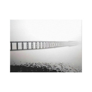Bridge to Nowhere Canvas Print