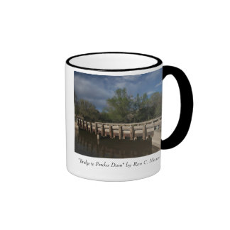 """Bridge to Percha Dam"" Ringer Mug"