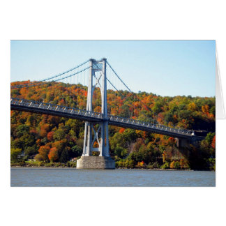 Bridge Tower in the Fall Greeting Card